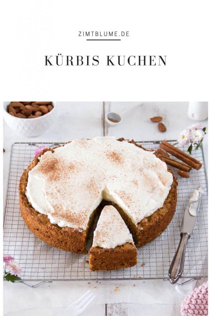 Rezept für Kürbiskuchen