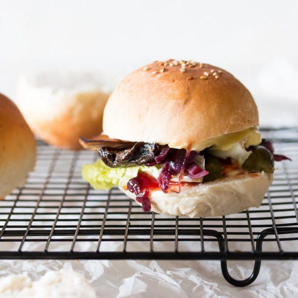 Burger Buns für Mini Burger