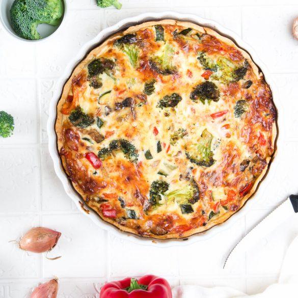 Köstliche Gemüsequiche: Das beste Rezept