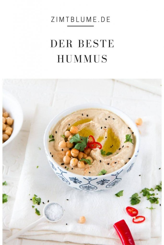 Original Hummus Rezept