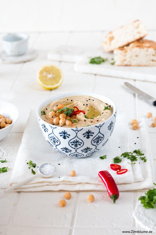 Cremigen Hummus selber machen