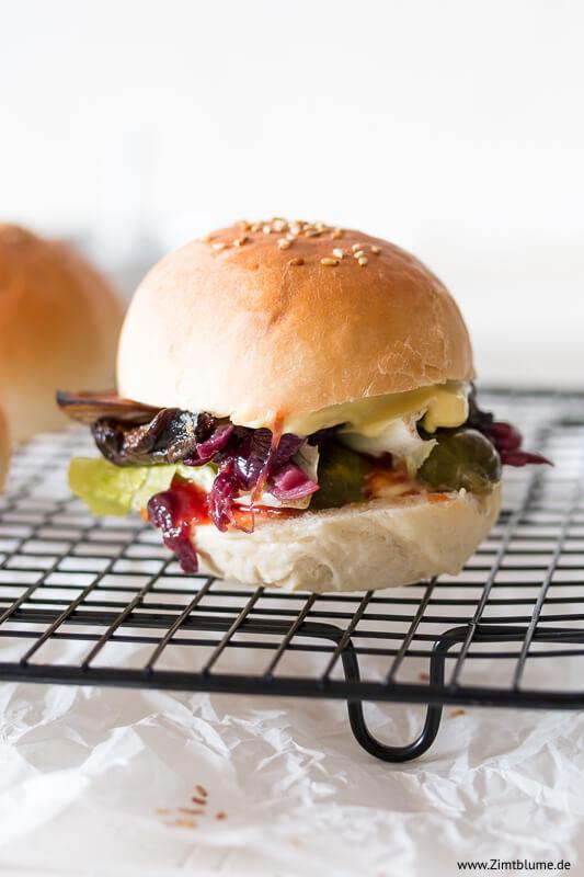 Belegter Mini Burger