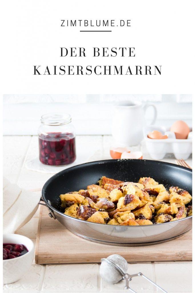 Originalrezept für Kaiserschmarrn