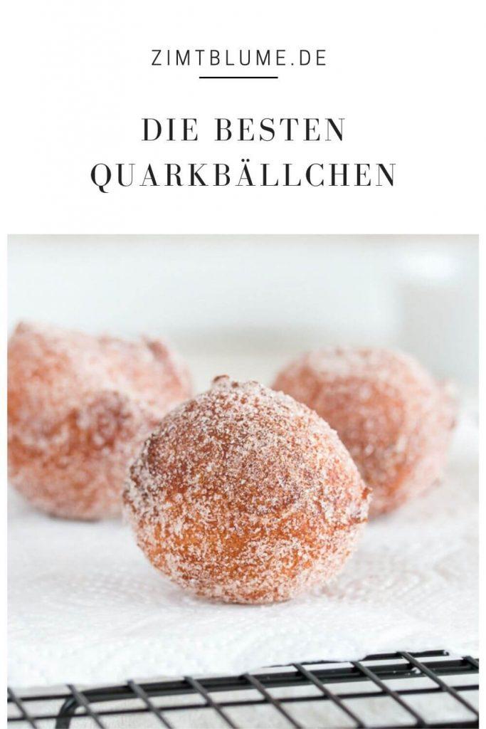 Quark Mutzen frittieren