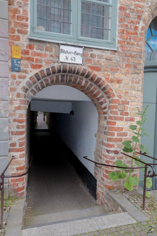 Bäckergang Lübeck