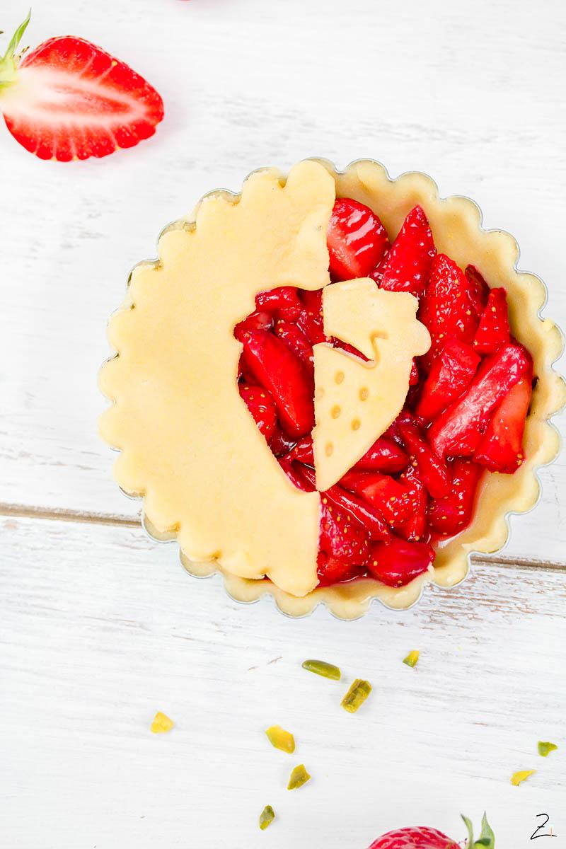 Rezept für fruchtige Erdbeer Tartelettes © Zimtblume