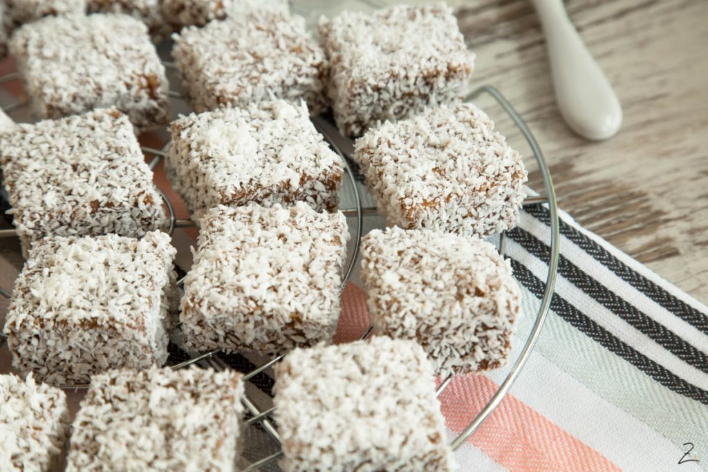 Lamingtons backen