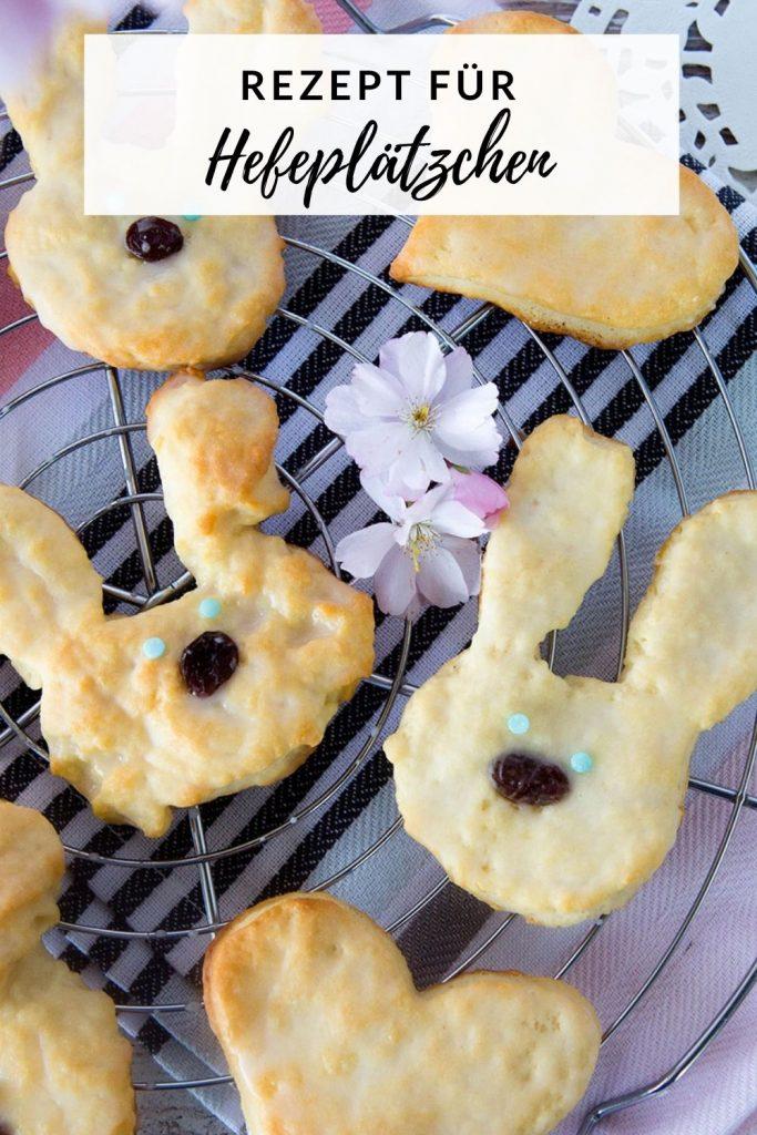 Osterhasen Kekse mit Trockenhefe