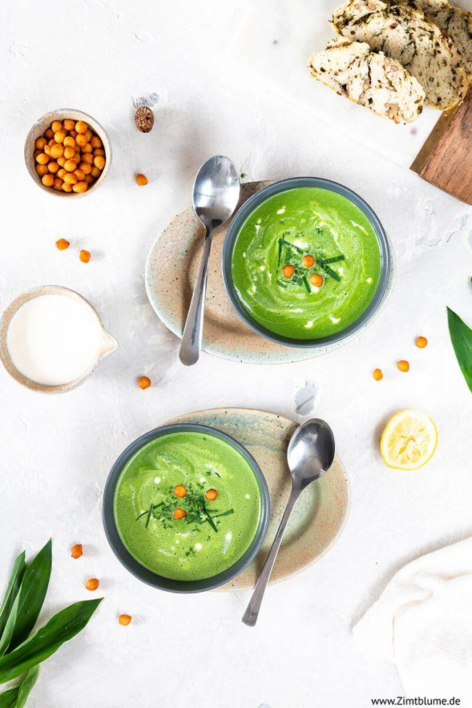 Bärlauch Suppe von Zimtblume