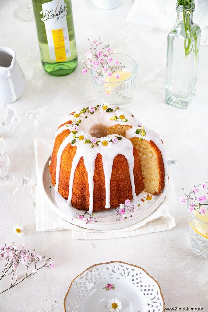 Kuchen mit Weißwein backen