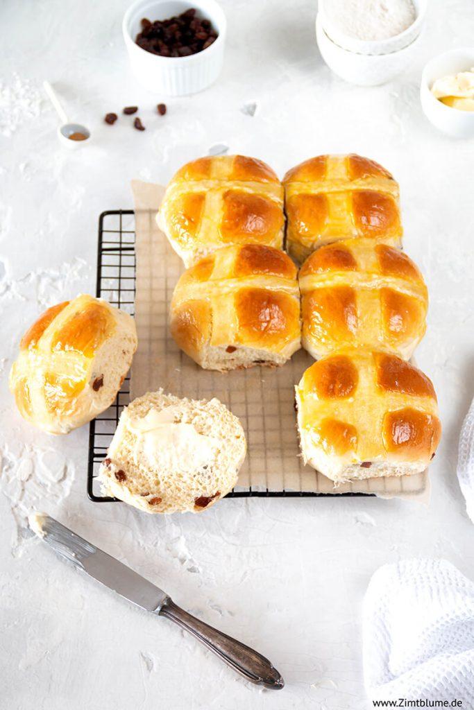 Hot Cross Buns Ostern