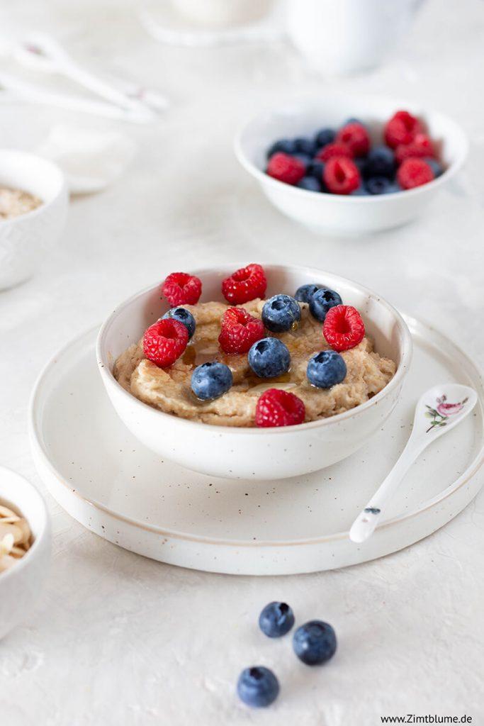 Porridge machen