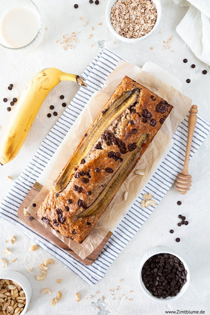 Veganes Bananenbrot backen
