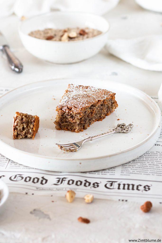 Saftiger Kuchen ohne Mehl: Einfaches Rezept