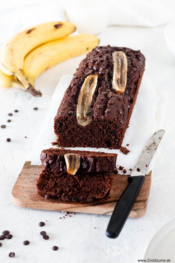 Bananenkuchen Schoko: Einfaches Rezept