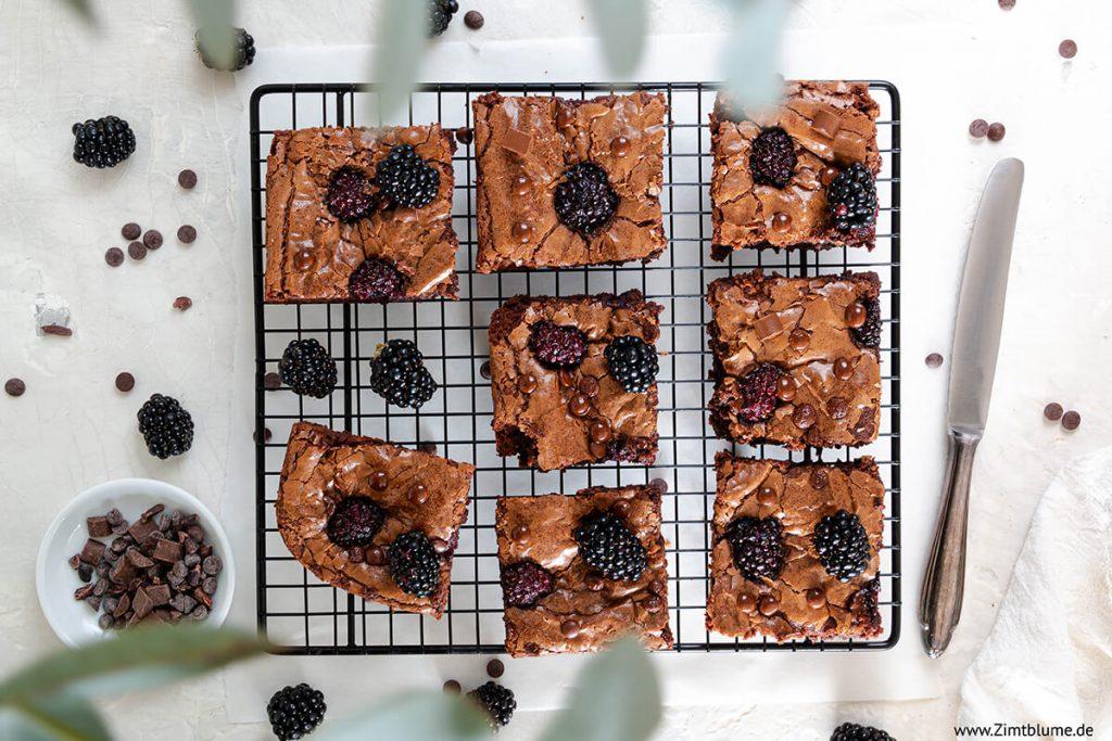 Brombeer Brownies Rezept
