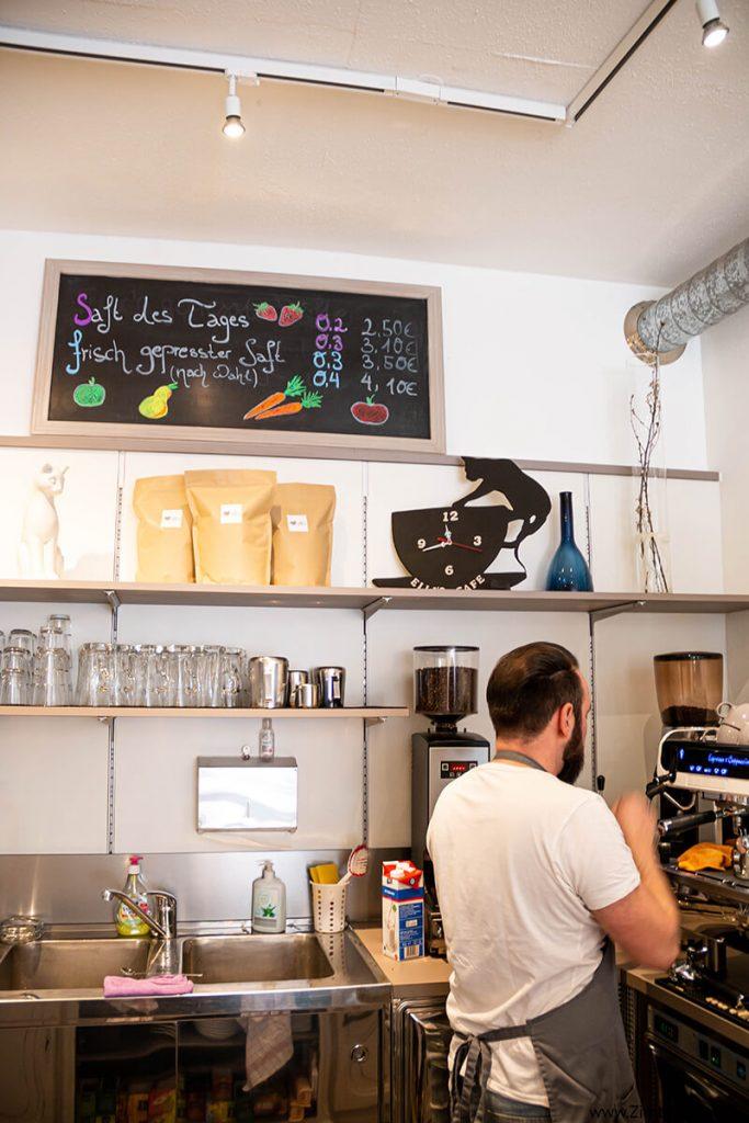 Elli's Café: Freiburg im Breisgau