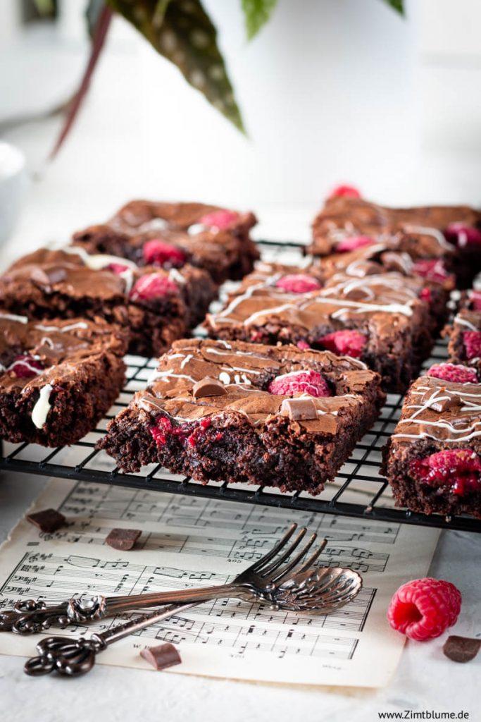 Die besten Himbeer Brownies