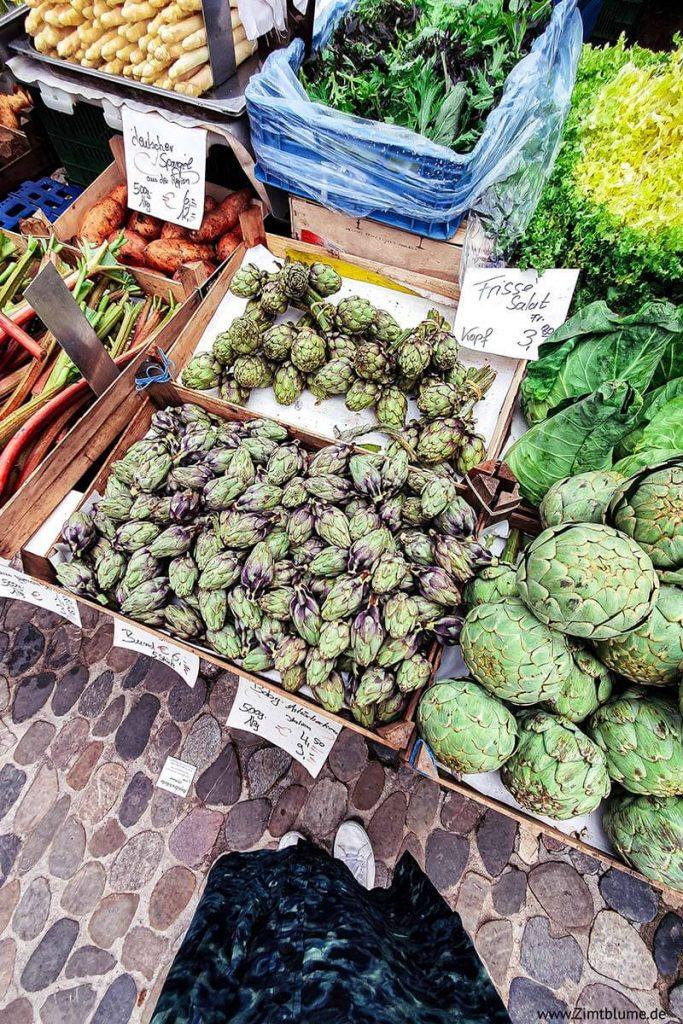 Freiburger Münstermarkt Spezialitäten
