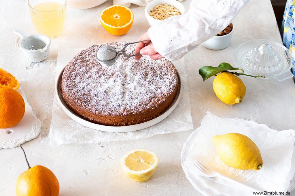 Mallorquinischer Mandelkuchen ohne Mehl