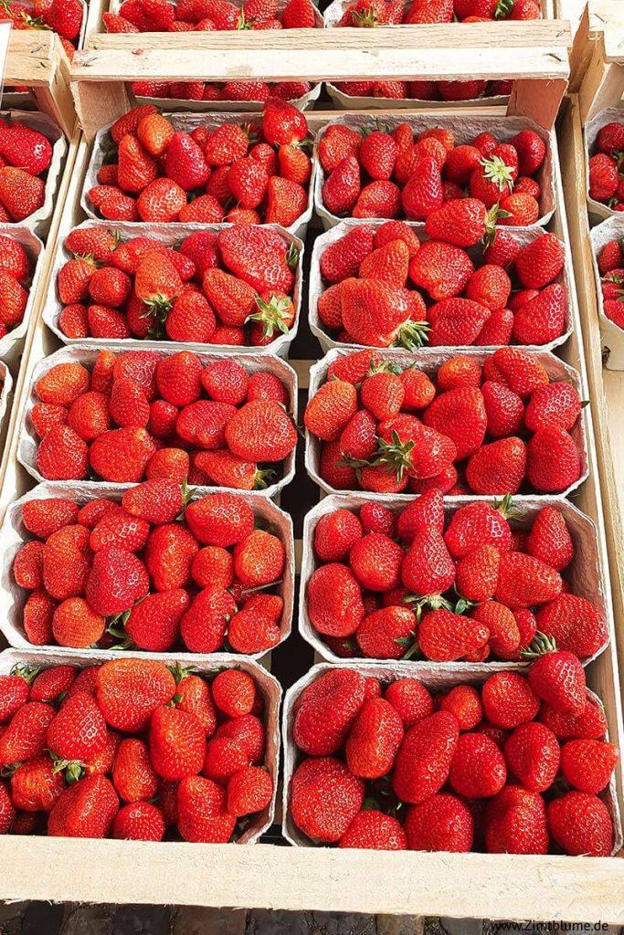 Münstermarkt Erdbeeren