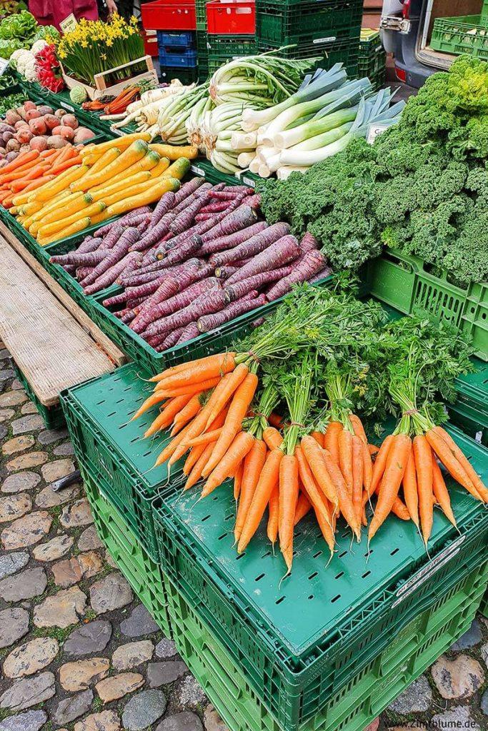 Münstermarkt Freiburg Gemüse