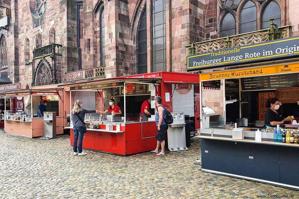 Münstermarkt Freiburg Lange Rote