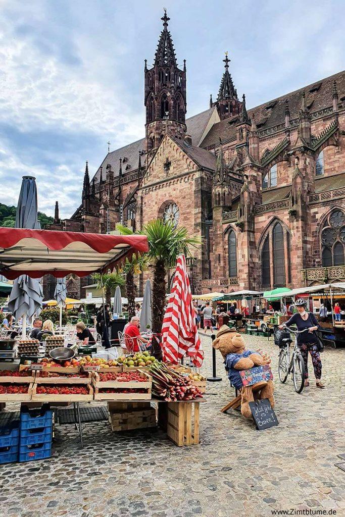 Münstermarkt Freiburg Münster