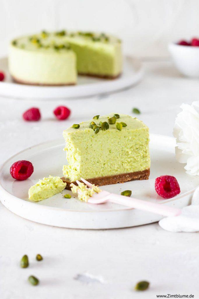 Pistazien Torte ohne backen