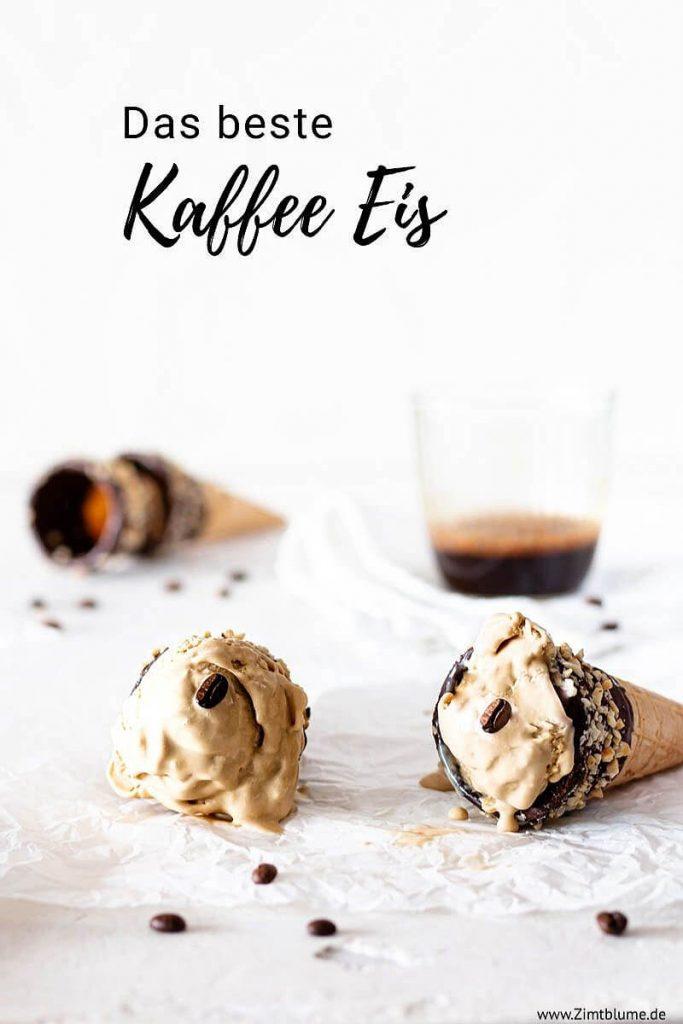 Rezept Kaffee Eis