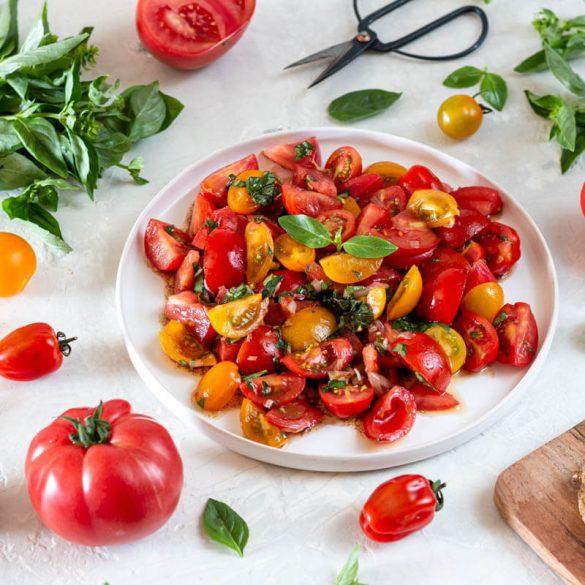 Tomatensala: Das beste Rezept
