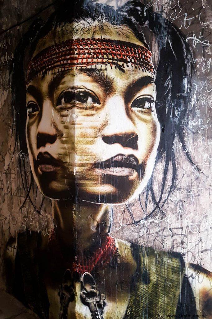 Graffiti MAUSA Vauban Neuf Brisach