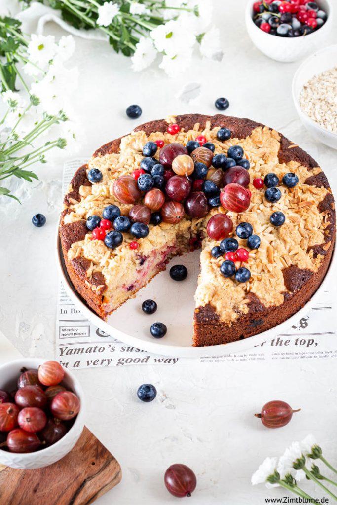 Rezept für Beerenkuchen