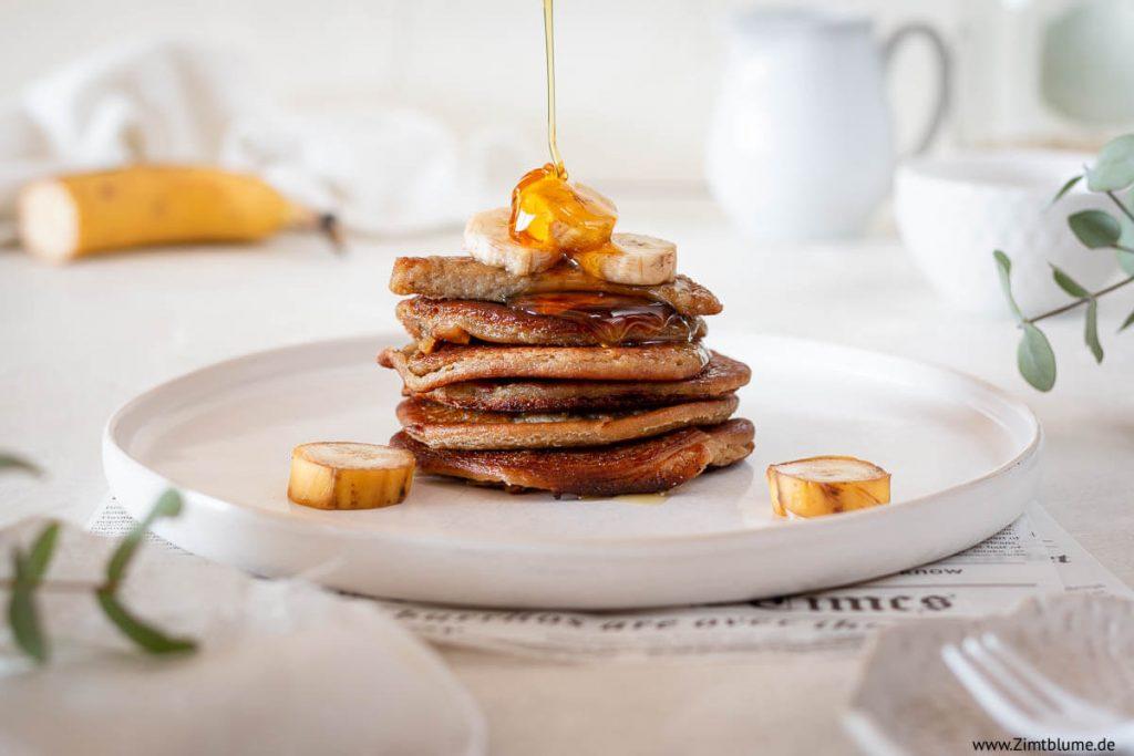 Pancakes ohne Zucker: Das beste Rezept