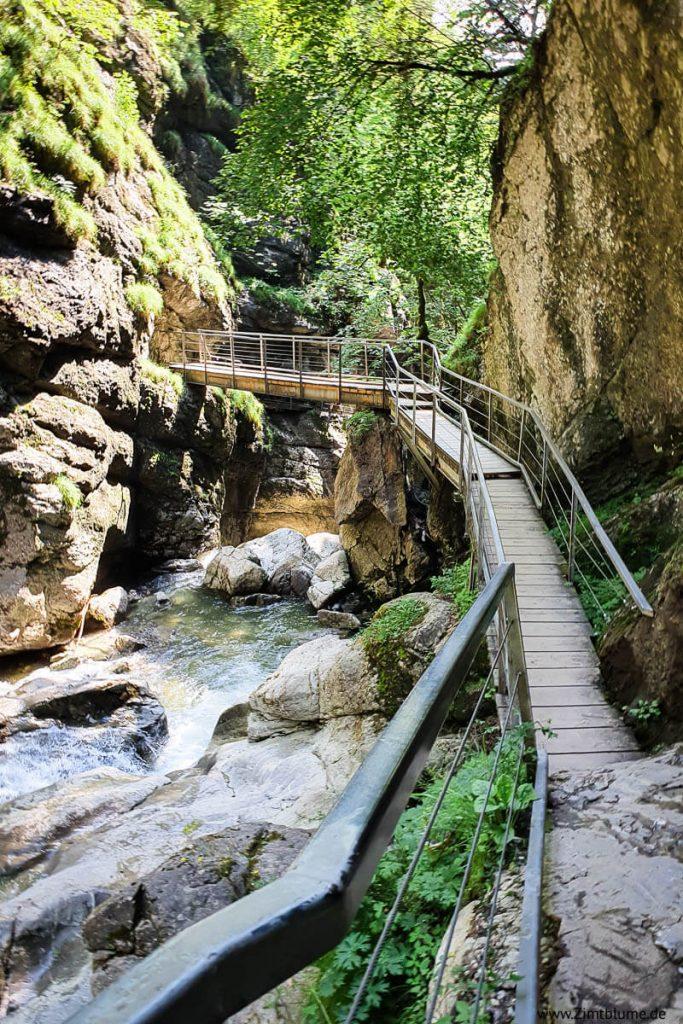 Wanderweg Starzlachklamm